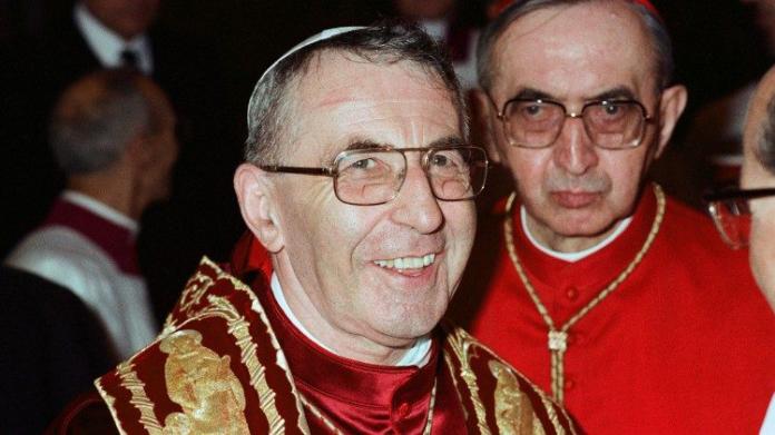 Il 26 Agosto 1978 veniva eletto papa Giovanni Paolo I