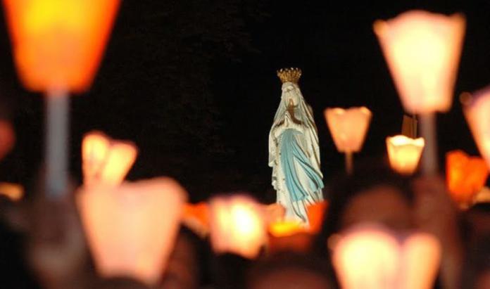 Preghiera alla Madonna di Lourdes