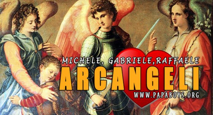 Preghiera ai tre Santi Arcangeli