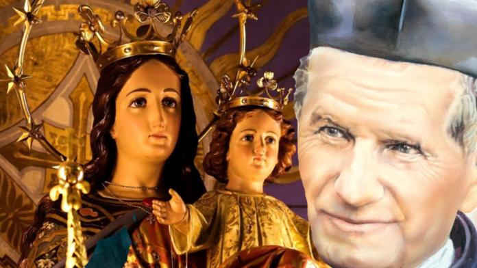Invoca don Giovanni Bosco nel nuovo giorno