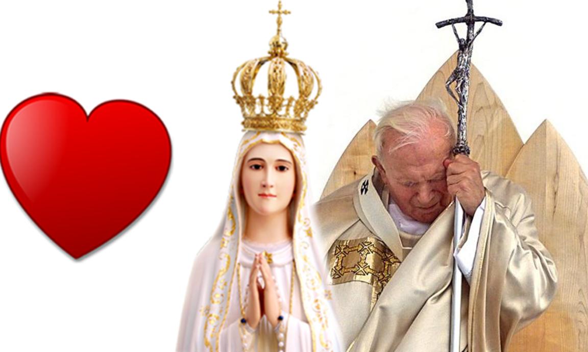 L'orazione di Giovanni Paolo II alla Madonna di Fatima