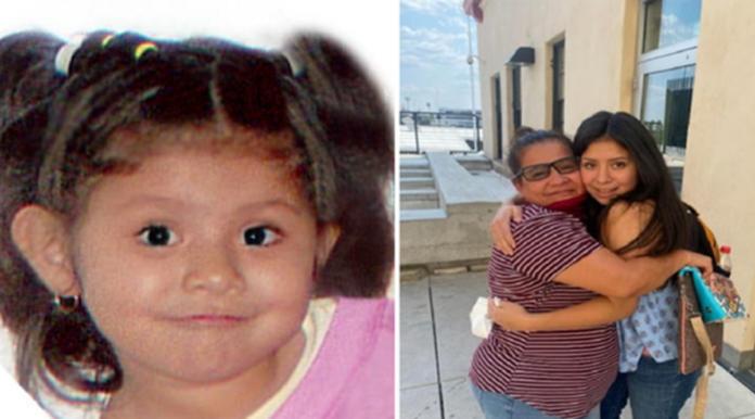 Jacqueline ritrova la mamma dopo 14 anni