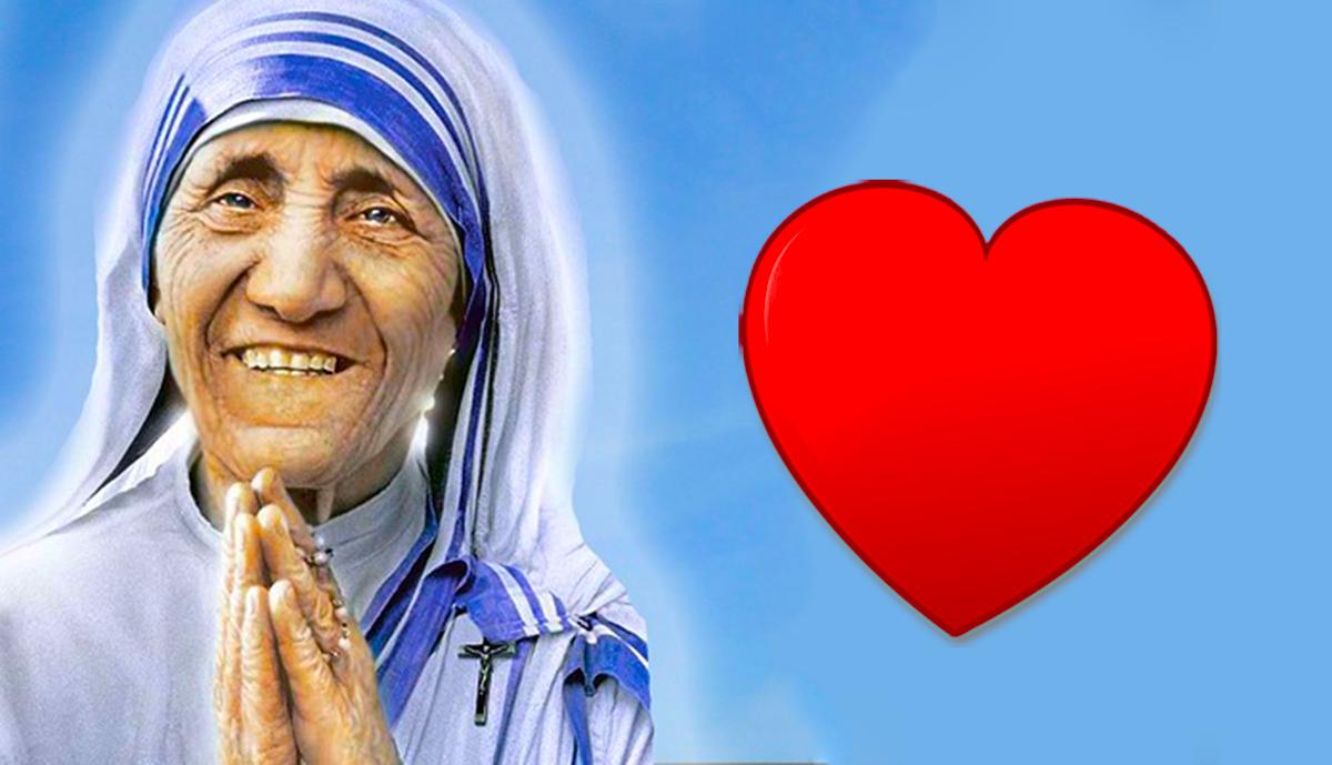 Vivi il nuovo giorno in compagnia di Madre Teresa