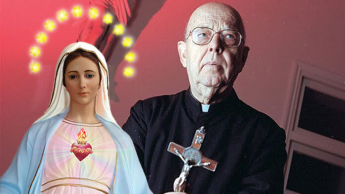 La preghiera di Padre Gabriele Amorth a San Michele