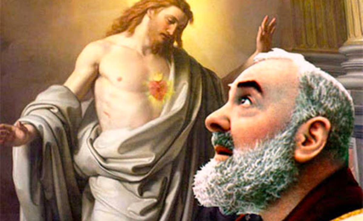 Preghiera a Padre Pio da Pietrelcina