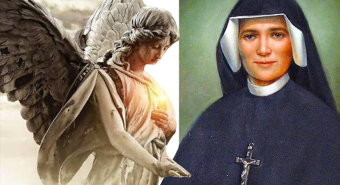 Quel legame speciale tra gli Angeli e Santa Faustina