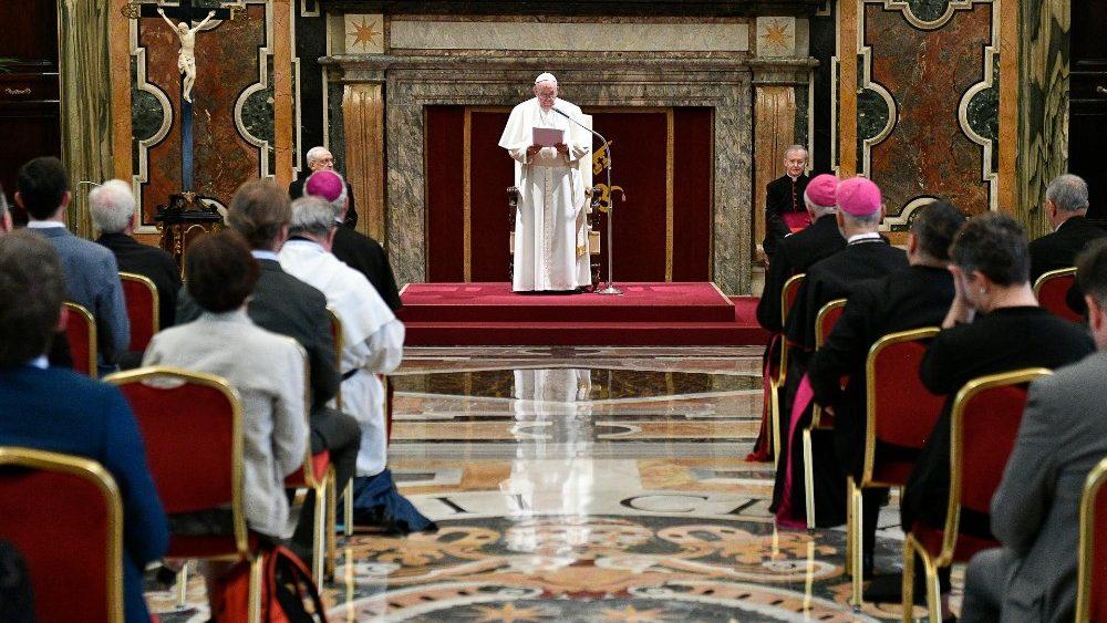 L'incontro di Papa Francesco con i catechisti