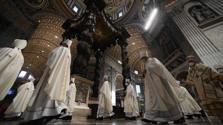 La messa di Papa Francesco