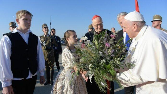 Papa Francesco.12.09.2021.arrivo