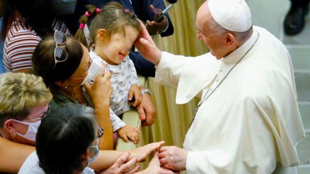 L'udienza di Papa Francesco