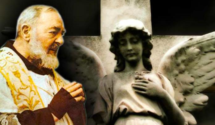 Preghiera al tuo angelo custode di Padre Pio