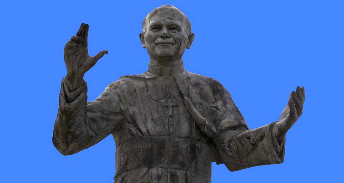 Giovanni Paolo II e gli angeli