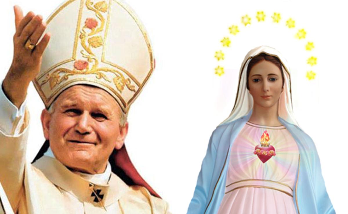 Chiedi una grazia a Giovanni Paolo II e alla Madonna di Lourdes