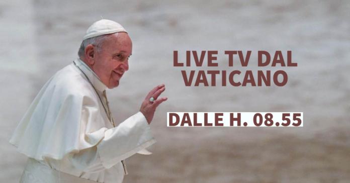Sabato 9 ottobre 2021 LIVE TV dalle h. 08.55