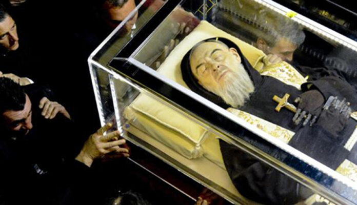 La preghiera di Padre Pio