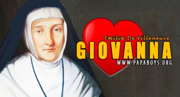 Santa Giovanna Emilia De Villeneuve