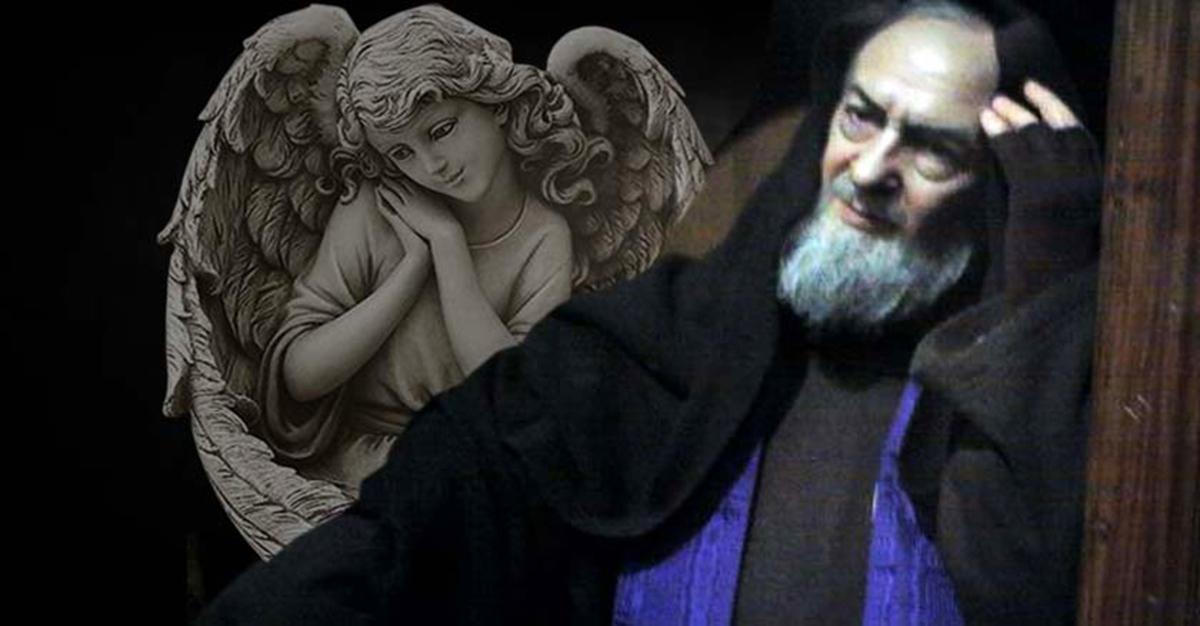 Padre Pio e la preghiera all'Angelo Custode
