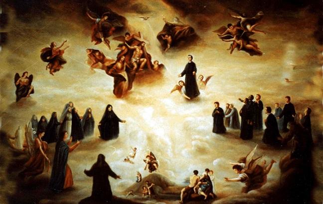 Le anime del Purgatorio dove scontano la pena?