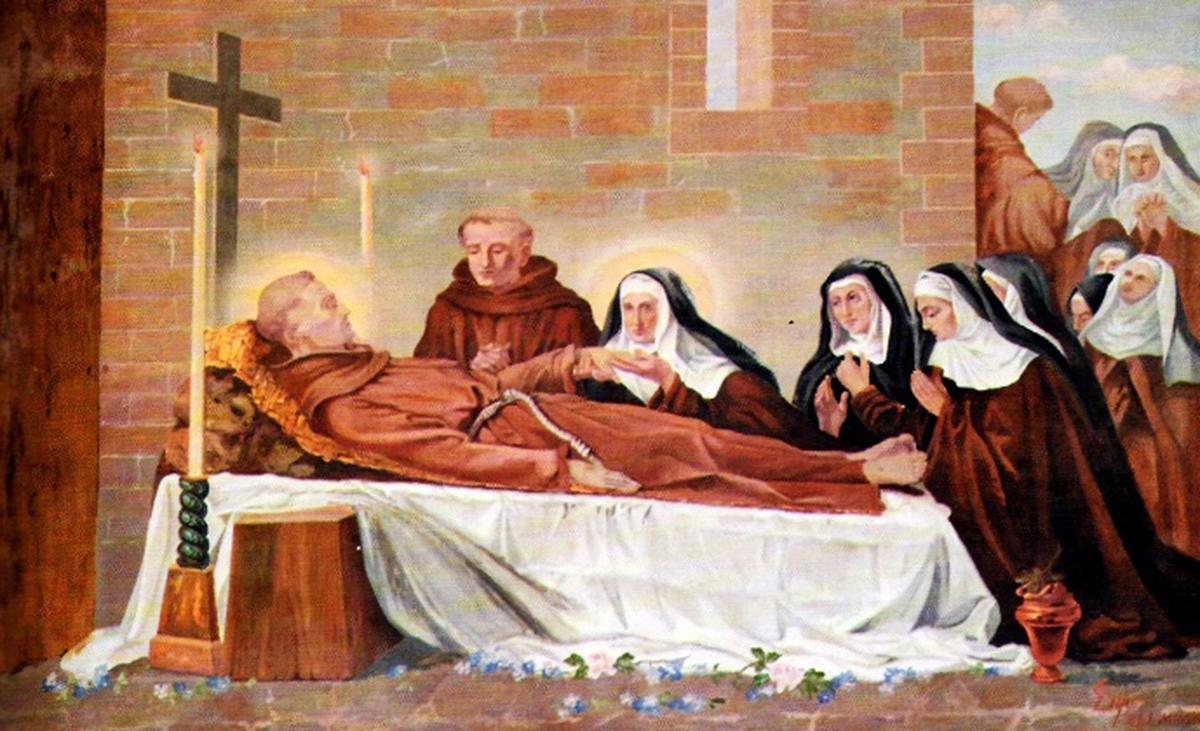 La morte di San Francesco: 3 ottobre