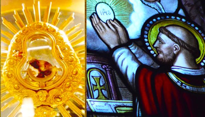 Il miracolo eucaristico di Santarém